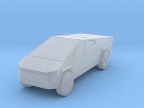Tesla Cybertruck 1/285 in Smooth Fine Detail Plastic