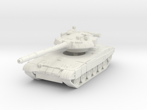 T-80U MBT 1/120 in White Natural Versatile Plastic