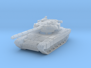 T-80U MBT 1/200 in Smooth Fine Detail Plastic