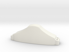 """Cocked Hat"" Pommel from Great Thurlow in White Natural Versatile Plastic"