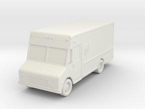UPS Delivery Van 1/72 in White Natural Versatile Plastic