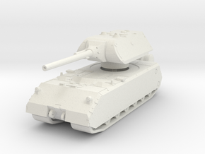 Panzer VIII Maus 1/76 in White Natural Versatile Plastic