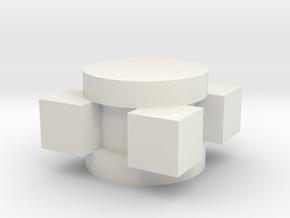 UM3_20200603CushionGuide12LargeBeforeRotation in White Natural Versatile Plastic