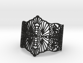 LONO Cuff in Black Natural Versatile Plastic