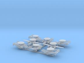 E-2C w/gear x8 (FUD) in Smooth Fine Detail Plastic: 1:700