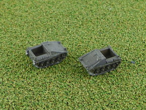 Hotchkiss Transport-Tank CC-2 Cargo 1/285 6mm in Smooth Fine Detail Plastic