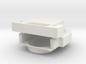 Lock test 3 in White Natural Versatile Plastic
