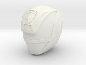 SPD Green Helmet LC  in White Natural Versatile Plastic