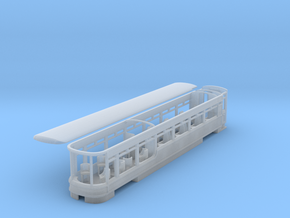 WHR Pullman observation coach NO.2152 (Gwyrfai) in Smooth Fine Detail Plastic