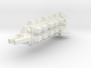 Cardassian Military Freighter 1/1400 in White Natural Versatile Plastic