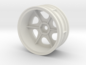 tamiya 2.2 astute left front wheel  in White Natural Versatile Plastic