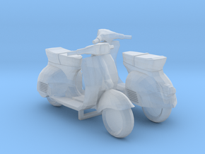 1/48 Vespa Scooter in Smooth Fine Detail Plastic