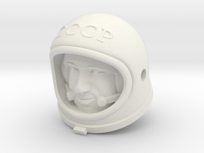 Cosmonaut Alexey Leonov ( 29cm Figure / Head in White Natural Versatile Plastic