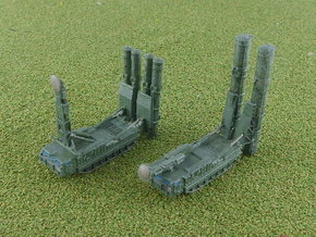 SA-12 SAM Launcher 9A82 9A83 1/285 in Smooth Fine Detail Plastic