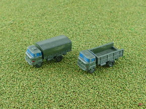 GDR IFA W-50 3to light Truck 1/285 in Smooth Fine Detail Plastic