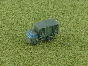 GDR IFA W-50 3to Truck w. Faltkoffer 1/285 in Smooth Fine Detail Plastic
