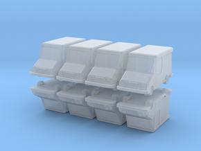 USPS Grumman LLV (x8) 1/400 in Smooth Fine Detail Plastic