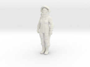 Valentina Tereshkova 12 cm in White Natural Versatile Plastic