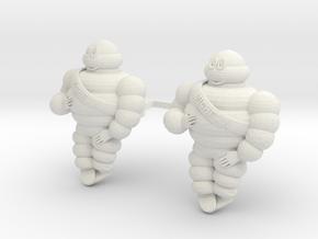Michelin figure 1/12 1/14 1/16 RC Trucks Tamiya in White Natural Versatile Plastic