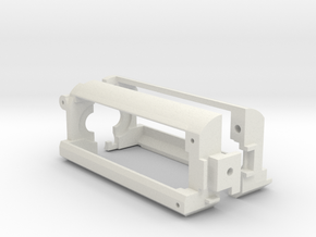 Motor Cage for Airsoft Type 97 in White Natural Versatile Plastic