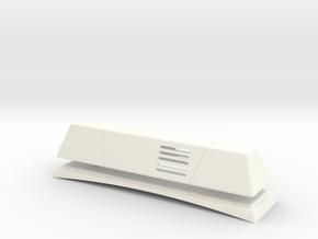 Blaulichtbalken scale 1:10 in White Processed Versatile Plastic