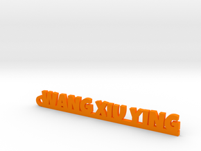 WANG XIU YING_keychain_Lucky in Orange Processed Versatile Plastic