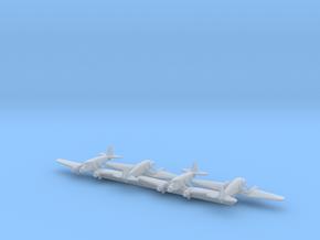 Stinson Model A w/Gear x4 (WW2) in Smooth Fine Detail Plastic: 1:700
