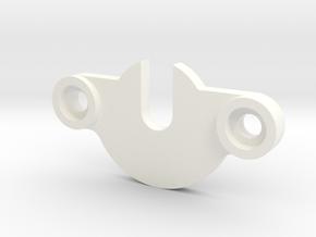 B-695-5 Plastic Yoke Bottom - Classic Stern in White Processed Versatile Plastic
