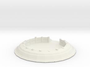 Gun Emplacement 1/200 in White Natural Versatile Plastic