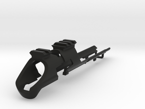 PLANET ECLIPSE MG100 -  TIRO BARATO WITH RAIL BODY in Black Natural Versatile Plastic