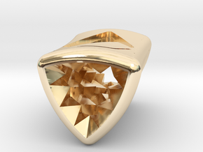 Stretch Diamond 6 By Jielt Gregoire in 14K Yellow Gold