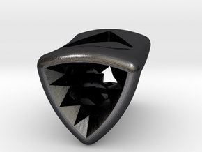 Stretch Diamond 6 By Jielt Gregoire in Polished and Bronzed Black Steel