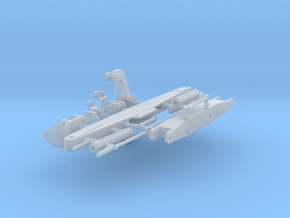 1/87th Log Loader boom and grapple in Smooth Fine Detail Plastic