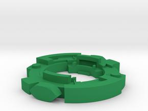 Shamblor  in Green Processed Versatile Plastic