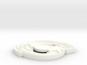 Sarcophalon in White Processed Versatile Plastic