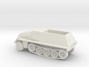 1/87 Scale SD KFZ 250 Model in White Natural Versatile Plastic