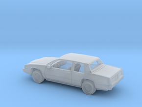 1/160 1991 Cadillac DeVille Coupe Kit in Smooth Fine Detail Plastic