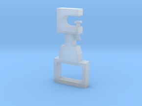 Portable armrest in Smooth Fine Detail Plastic