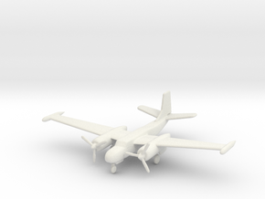 1:144 A-26 Counter Invader  in White Natural Versatile Plastic