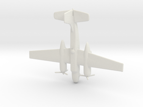 1:144 A-26B Invader in White Natural Versatile Plastic