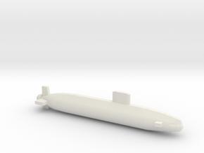 Trafalgar Class SSN, Full Hull, 1/1250 in White Natural Versatile Plastic