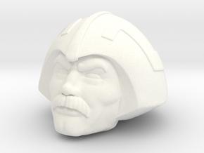 Duncan Head in White Processed Versatile Plastic