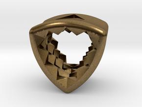 Stretch Diamond 14 By Jielt Gregoire in Natural Bronze