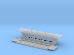 C4 - Swedish passenger wagon in Smooth Fine Detail Plastic