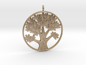 tree_ in Polished Gold Steel
