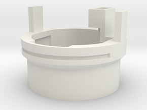 Y3 - Speakerholder - (Part 2/4) in White Natural Versatile Plastic