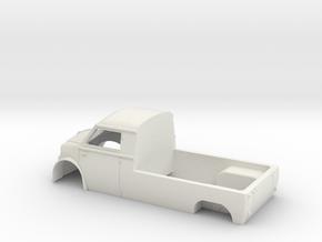 Lloyd LT 600 pickup scale 00 (76) in White Natural Versatile Plastic