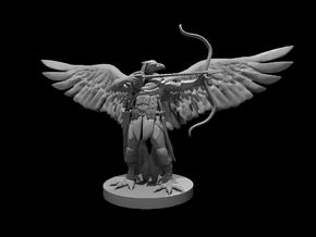 Aarakocra Ranger in Smooth Fine Detail Plastic