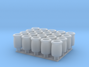 chimney colonial group -OO in Smooth Fine Detail Plastic