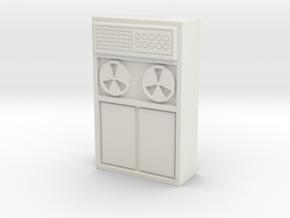 Old Computer Bank 1/56 in White Natural Versatile Plastic